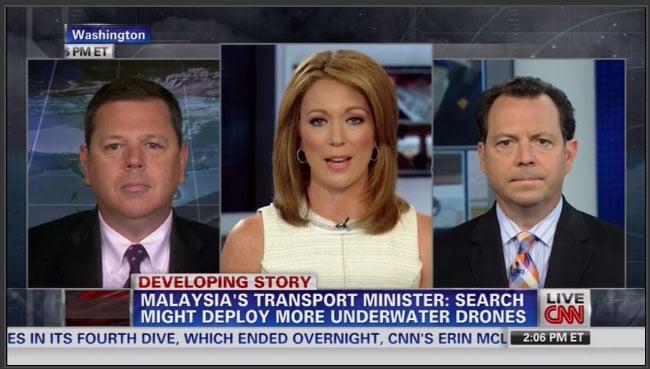 CNN Newsroom (V. Gurley) - (2014/04/18)