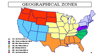 SeaPort-e Geographic Zones